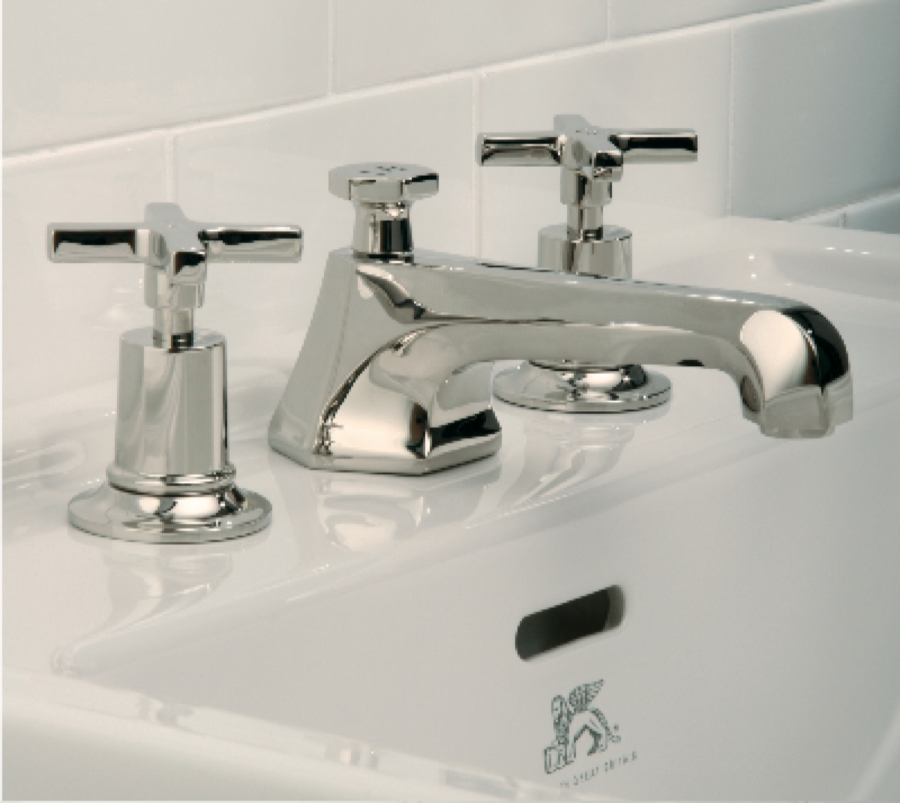MacIntosh 1930 s Lever Handle Basin Mixer Tap with Pop Up Waste   The Bath  BusinessThe Bath Business. MacIntosh 1930 s Lever Handle Basin Mixer Tap with Pop Up Waste