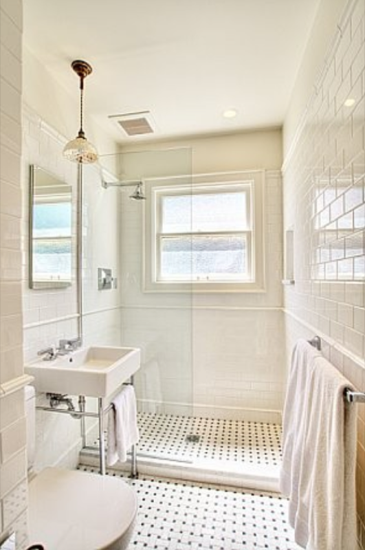 A fantastic small shower room